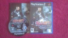 Swat Global Strike Team Original Etiqueta Negra Sony Playstation 2 Ps2 Pal VGC