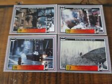 Australia Dynamic Batman Returns Movie 4 x Cards No100, 103, 106, 113