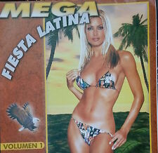Audio CD - MEGA FIESTA LATINA - Volumen 1 - Like New (LN) WORLDWIDE