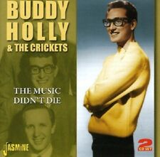 BUDDY & THE CRICKETS HOLLY - THE MUSIC DIDN'T DIE 2 CD NEW+