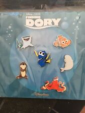 DISNEY FINDING DORY SEALED 4 PIN Booster Set New from The Movie Finding Nemo