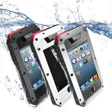 Wasserdicht Metall Schutzhülle Handy Tasche Case Für iPhone 4/4s 5/5s/SE 6/6s