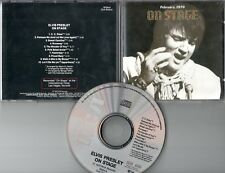 ELVIS PRESLEY cd On Stage (C) 1970 Club Edition