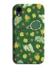 Summer Tennis Phone Case Cover Rackets Ball Fake Grass Print Outdoor Sports F683