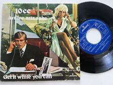 "10CC Art For Arts Sake Spain 7 "" Vinyl 1976 Ex 10 Cc"