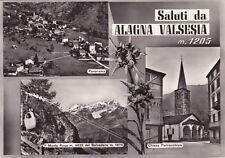 * ALAGNA VALSESIA - Panorami 1958