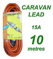 Caravan Lead 15A 10 metres Heavy Duty Power Cord
