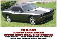 FENDER DESIGNATION DECAL SET SP QG-516 537 534 1970 DODGE CHALLENGER CHOOSE