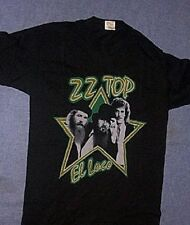 Original Vintage 1982 Zz Top El Loco T Shirt Black & Tour Book