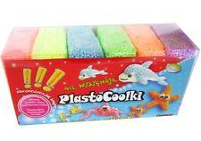 Plastocoolki - 6pack-Espuma De Arcilla, suave modelado de arcilla-Mega Fun
