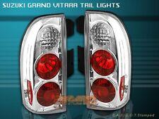99-04 SUZUKI GRAND VITARA CLEAR TAIL LIGHTS LAMPS 03 02 01 00