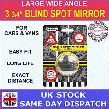 "SUMMIT BLIND SPOT MIRROR ROUND ADHESIVE  3 3/4"" LARGE FOR CARS, VANS & CARAVANS"