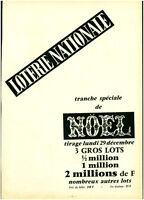 POULBOT  lot de 2 Anciens différents  marques pages Loterie Nationale TBE