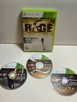 Rage (Microsoft Xbox 360, 2011) Game No Manual