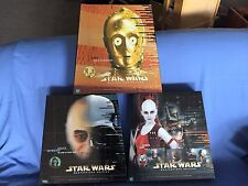 Star Wars Masterpiece Edition Aurra Sing Vader C3PO Lot 12 inch