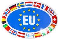 Europa Staaten Schild Relief Emblem Aufkleber 3D Dekor HR Art. 19308