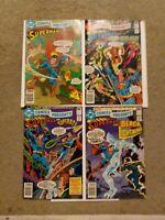 DC Comics Presents Issues #12 13 14 16 (DC, 1979) Superman
