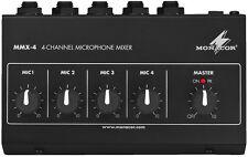 IMG étape MMX-4 miniatur-mikrofon-mischer 17-195