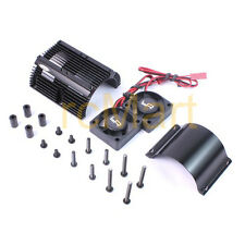 Yeah Racing Heat Sink Twin Tornado High Speed Fans Set 1:8 Motor Car #YA-0261BK