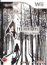 RESIDENT EVIL 4 TEXTOS EN CASTELLANO NUEVO PRECINTADO  Wii
