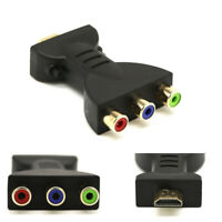 HDMI a 3 RCA Convertitore Video Full HD 1080P AV Composito Adattatore Scart CVBS