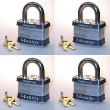 Lock Set Master Keyed 1MK (Lot 4) Keyed Different With Supervisory Control Key
