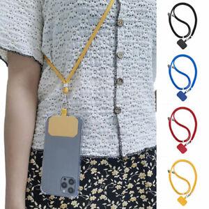 Universal Crossbody Nylon Patch Phone Lanyards Mobile Phone Strap Lanyard Unisex