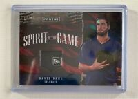 2017 Panini Father's Day DAVID DAHL Laundry Tag Relic Atomic Refractor SP /25