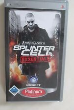 Tom Clancy's Splinter Cell: Essentials , Sony PSP,