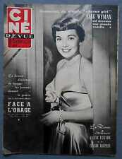 ►CINE REVUE 3/1952-JANE WYMAN-GERARD PHILIPE-TONY CURTIS-DANA ANDREWS-McGUIRE...
