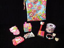 Hello Kitty treasure bag Purse Pez Jewelry Calendar Candy