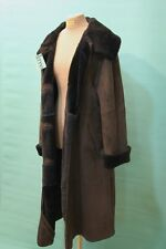 Traumhafter Marester Lamm Fell Mantel ca 44/L Italy Designer Shearling Luxus TOP