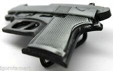 Unisex's Fashion Fake Heavy Pistol Design Belt Buckle Unique Body Jewelry 2016
