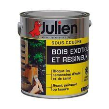 PEINTURE SOUS COUCHE BOIS EXOTIQUE RESINEUX JULIEN 2.5L ISOLANTE RENFORCE LASURE
