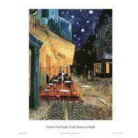 VAN GOGH ART POSTER 16x20 PRINT 16075 CAFE TERRACE AT NIGHT