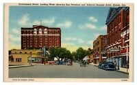 Government Street, Bus Terminal, Admiral Semmes Hotel, Mobile, AL Postcard *6A12