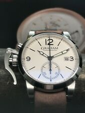 Graham 1695 Chronofighter Chronograph 42mm 2CXAS Stainless Steel Swiss Automatic