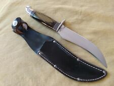 "Western Boulder ""Venom""  9 1/4"" Fixed Blade Skinning/Hunting Knife Mint!"