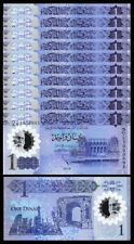 Libya 1 Dinar 2019 , UNC , 10 Pcs LOT , POLYMER , P-New, NEW DESIGN