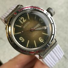Eared VOSTOK Early Amphibian Lugs Rare USSR Diver Watch Vintage Luminous Russia