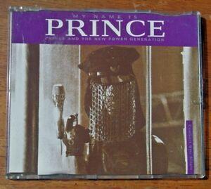 PRINCE...MY NAME IS PRINCE  cd single