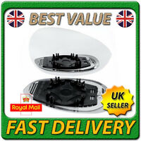 Right Driver Off Side Heated Wing Door Mirror Glass for FIAT GRANDE PUNTO 2005+
