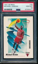 PSA 10 MICHAEL JORDAN 1991-92 91-92 Skybox #39 Chicago Bulls HOF RARE GEM MINT