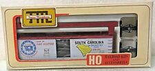 State of South Carolina 40' Wood Box Car Train-Miniature HO Vintage C1975