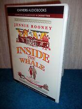 JENNIE ROONEY - INSIDE THE WHALE - UNABRIDGED AUDIO BOOK - 8 CASSETTES - VGC