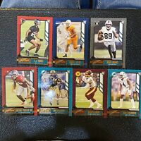 2020 Panini Playbook Football Orange SP Parallel RC Rookie LOT OF 7