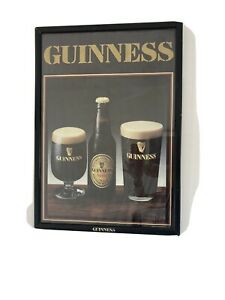 Framed Guinness Poster 44 cm by 66 cm
