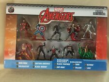 Marvel Avengers Jada Nano Metalfigs 10 Pack Collector's Set 6 Exclusive Figs New