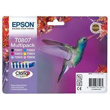 C13T08074011-T0807 CARTUCCE ORIGINALI EPSON STYLUS PHOTO PX810FW