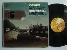ANDRE PREVIN Poulenc Concerto for Organ SIMON PRESTON Classical LP ANGEL